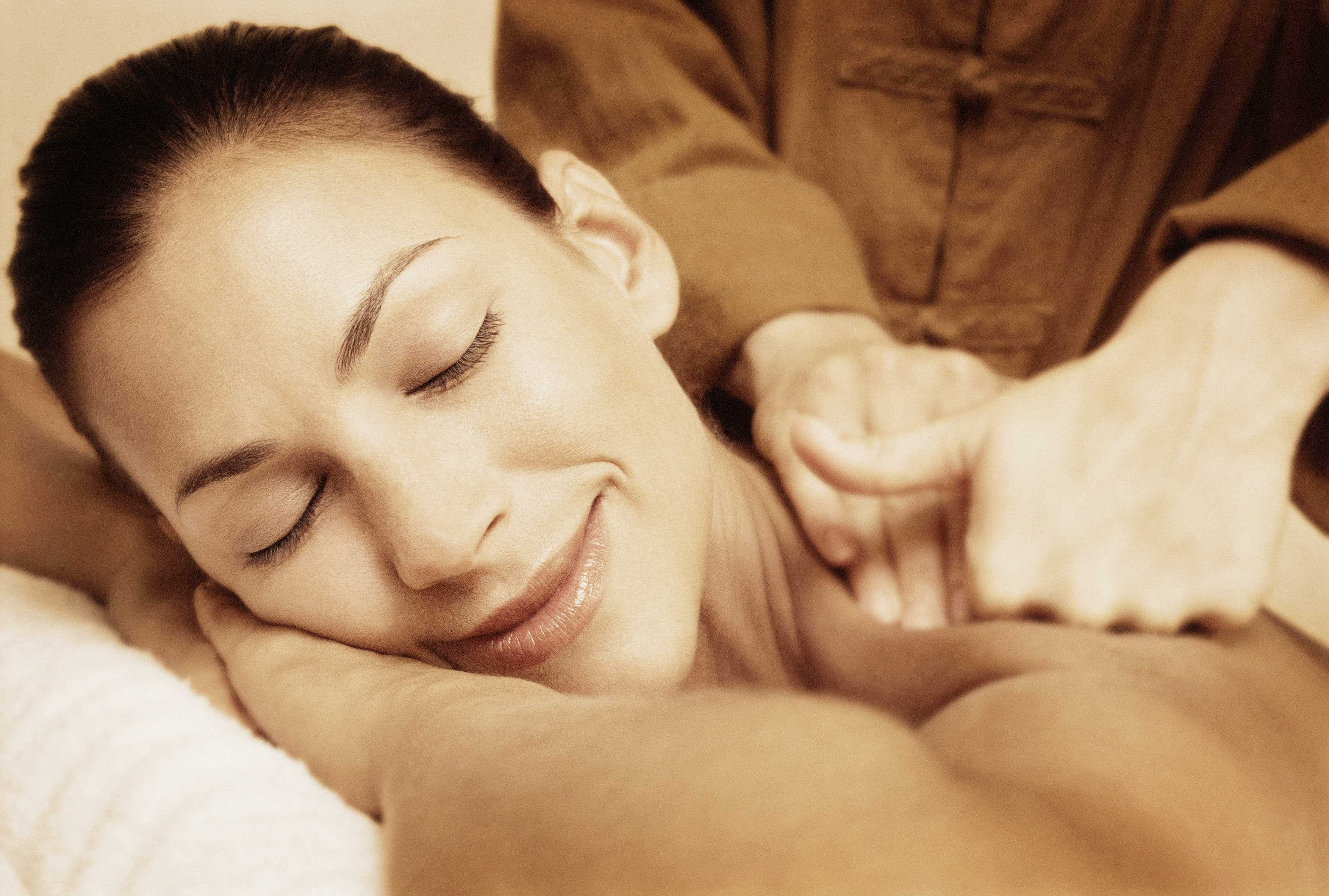 Massage maintains physical health and well-being and induces ...