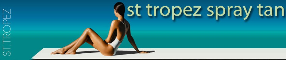 St Tropez Spray Tan